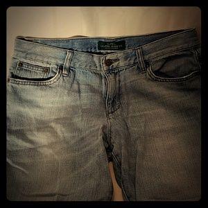LRL Ralph Lauren Jean's crop Jean's women's size 8